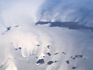 Φωτογραφία για Εκπληκτική φωτογραφία από το διάστημα: Η Κρήτη... ανάποδα και η αλληλεπίδραση στεριάς - θάλασσας