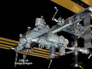 Φωτογραφία για Συνωστισμός στον Διεθνή Διαστημικό Σταθμό: Πέντε σκάφη «παρκαρισμένα» στο εξωτερικό του
