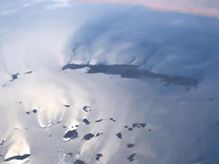 Φωτογραφία για Απίστευτη φωτογραφία! Η Κρήτη και οι Κυκλάδες από το Διάστημα