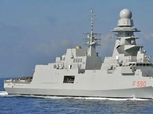 Φωτογραφία για La Rebubblica: Η Ιταλία έστειλε φρεγάτα στην Κύπρο - «Είμαστε έτοιμοι» το μήνυμα στην Άγκυρα