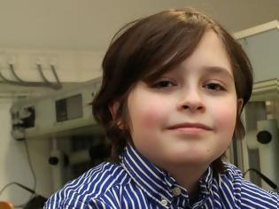 Φωτογραφία για 9χρονος «Αϊνστάιν» σταμάτησε το πανεπιστήμιο γιατί δεν τον άφησαν να γίνει ο νεότερος πτυχιούχος στον κόσμο