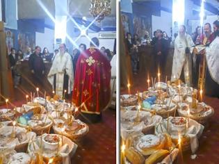 Φωτογραφία για Εσπερινός του Αγίου Σπυρίδωνος στον ΑΕΤΟ Ξηρομέρου (ΦΩΤΟ)