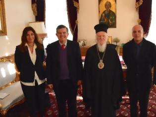 Φωτογραφία για Στον Οικουμενικό Πατριάρχη ο Αθανάσιος Μαρτίνος