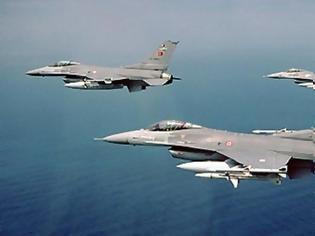 Φωτογραφία για Νέο μπαράζ τουρκικών παραβιάσεων κι αερομαχία στο Αιγαίο