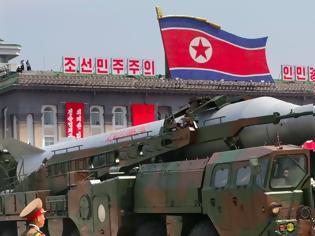 Φωτογραφία για Βόρεια Κορέα: Η νέα πυραυλική δοκιμή έχει σκοπό την «εξουδετέρωση των πυρηνικών απειλών των ΗΠΑ»