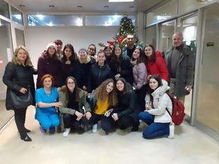 Φωτογραφία για Επίσκεψη μαθητών 2ου ΓΕΛ Έδεσσας στο Νοσοκομείο