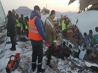 Φωτογραφία για Τραγωδία στο Καζακστάν: Συντριβή αεροπλάνου με 100 επιβάτες σε κατοικημένη περιοχή