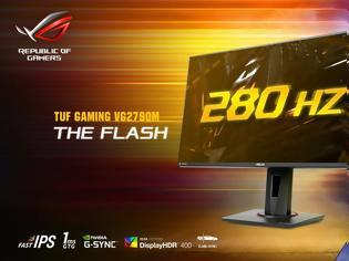 Φωτογραφία για ASUS TUF Gaming VG279QM Monitor στα 280Hz!