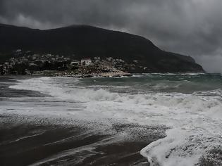 Φωτογραφία για «Ηφαιστίων»: Άνεμοι σε επίπεδο θύελλας άνω των 160 χλμ/ώρα στο Αιγαίο