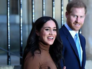 Φωτογραφία για Πρίγκιπας Χάρι και Μέγκαν Μαρκλ αποσύρονται από τα βασιλικά τους αξιώματα