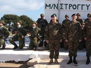 Φωτογραφία για Eπίσκεψη Αρχηγού Γενικού Επιτελέιου Στρατού στην Περιοχή Ευθύνης της 95 ΑΔΤΕ