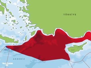 """Φωτογραφία για Ελληνοτουρκικά - Τουρκία: """"Η ακτογραμμή μας είναι η μεγαλύτερη στη Μεσόγειο – Έχουμε δικαιώματα στην περιοχή.."""""""