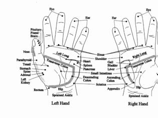 Φωτογραφία για Ρεφλεξολογία: Ποιες ασθένειες φαίνονται στα χέρια μας;