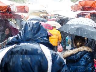 Φωτογραφία για Πέφτει η θερμοκρασία - Βροχές, καταιγίδες και κρύο τις επόμενες μέρες