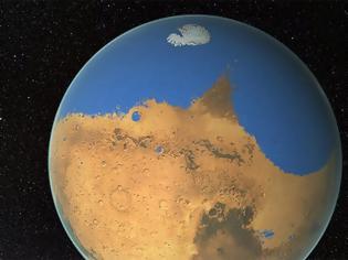 Φωτογραφία για Ο Αρης χάνει το λιγοστό νερό του απρόσμενα γρήγορα