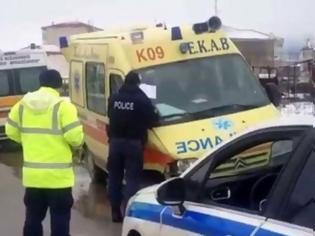 Φωτογραφία για Ένας νεκρός από σύγκρουση νταλίκας με λεωφορείο των ΚΤΕΛ