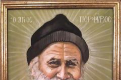 Ὁ Άγιος Πορφύριος συνέδεε το θέμα τῶν πνευματικῶν ἀγώνων με τη γαστριμαργία και τη λαιμαργία
