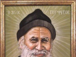 Φωτογραφία για Ὁ Άγιος Πορφύριος συνέδεε το θέμα τῶν πνευματικῶν ἀγώνων με τη γαστριμαργία και τη λαιμαργία