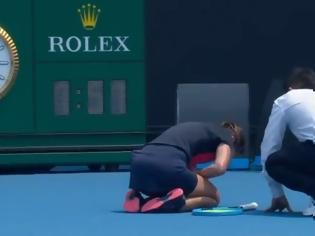 Φωτογραφία για Τενίστρια κατέρρευσε λόγω δύσπνοιας από τους καπνούς των πυρκαγιών στο Australian Open