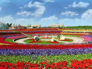 Φωτογραφία για «Miracle Garden» Ο κήπος των θαυμάτων στο Ντουμπάι και δεν υπάρχει παρόμοιος σε όλο τον κόσμο.