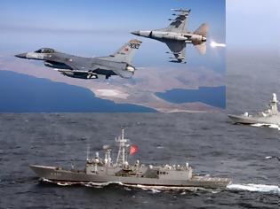 Φωτογραφία για Ο μισός τουρκικός στόλος σε Αιγαίο και Νότια της Κρήτης