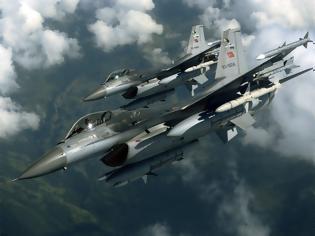 Φωτογραφία για Υπέρπτηση τουρκικών F-16 πάνω από την Κίναρο με το «καλημέρα» - Ελληνοτουρκικά