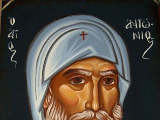 Φωτογραφία για Αποκάλυψη του Αγίου Αντωνίου για τη Μοναχική χάρη