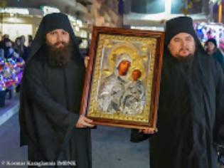 Φωτογραφία για 13047 - Η Αχειροποίητη εικόνα της Παναγίας της Προδρομίτισσας από την Ιερά Σκήτη Τιμίου Προδρόμου του Αγίου Όρους στη Βέροια