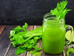 Φωτογραφία για Ποια οφέλη μπορεί να έχει για την υγεία μας ο χυμός σέλινου;