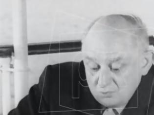 Φωτογραφία για Νίκος Καββαδίας: Δείτε βίντεο με σπάνια συνέντευξη του ποιητή 55 χρόνια