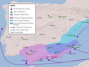 Φωτογραφία για Οι αρχαίες Ελληνικές αποικίες στην Ισπανία