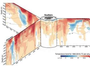 Φωτογραφία για Θερμοκρασίες ρεκόρ καταγράφονται και στους ωκεανούς του πλανήτη