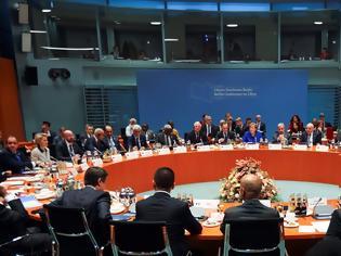Φωτογραφία για Διάσκεψη για τη Λιβύη: Συμφώνησαν να επιβληθεί εκεχειρία και να τερματιστεί η ξένη στρατιωτική παρέμβαση