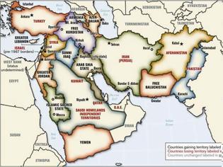 Φωτογραφία για Το αμερικανικό σχέδιο διαμελισμού 22 χωρών