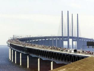 Φωτογραφία για Γέφυρα Όρεσουντ: Θα τη βάφουν για 13 χρόνια