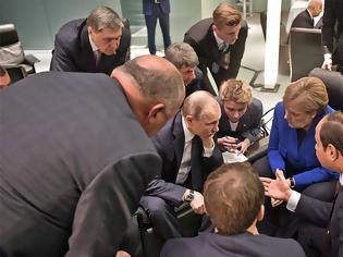 Φωτογραφία για Διάσκεψη για τη Λιβύη: Συμφωνία με «πήλινα πόδια» στο Βερολίνο