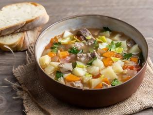 Φωτογραφία για Μοσχάρι σούπα με λαχανικά