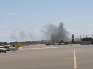 Φωτογραφία για Λιβύη: Λουκέτο στο μοναδικό αεροδρόμιο που βρισκόταν σε λειτουργία - Δέχτηκε επίθεση με ρουκέτες