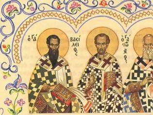 Φωτογραφία για Η τελική διάταξη για την εορτή των Τριών Ιεραρχών