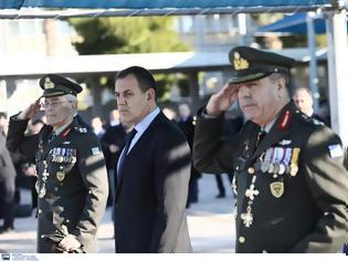 Φωτογραφία για Συγκίνηση! Ο Υπουργός Εθνικής Άμυνας Νίκος Παναγιωτόπουλος ψάλλει το Υπερμάχω και τον Εθνικό Ύμνο!