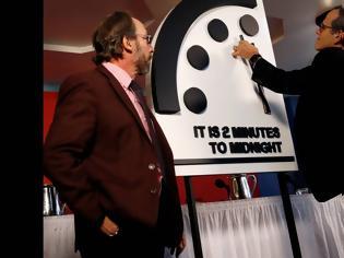 Φωτογραφία για «Ρολόι της Αποκάλυψης»: Εκατό δευτερόλεπτα πριν από το τέλος του κόσμου