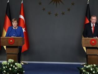 Φωτογραφία για Ερντογάν σε Μέρκελ: Η Τουρκία υποστηρίζει στρατιωτικά την κυβέρνηση του αλ Σάρατζ