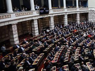 Φωτογραφία για Υπερψηφίστηκε με 163 «ναι» ο νέος εκλογικός νόμος