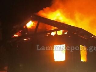 Φωτογραφία για Φωκίδα: Κάηκε διώροφο σαλέ στον Επτάλοφο