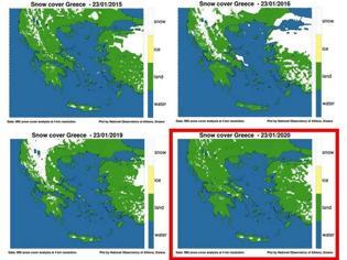 Φωτογραφία για Καιρός: Προβληματίζουν οι δορυφορικές εικόνες πάνω από την Ελλάδα! Η σύγκριση της τελευταίας 15ετίας [pics]