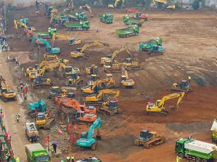 Φωτογραφία για Κίνα: Χτίζουν νοσοκομείο σε 10 μέρες...