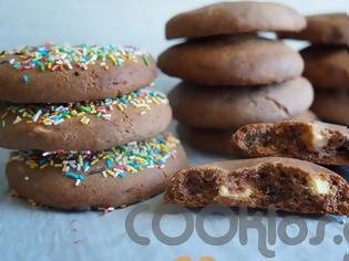 Φωτογραφία για Σοκολατένια μπισκότα με κομμάτια σοκολάτας