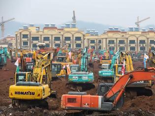 Φωτογραφία για Κοροναϊός - Κίνα: Χτίζουν νοσοκομείο για τους ασθενείς μέσα σε 10 μέρες