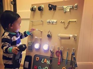 Φωτογραφία για ΚΑΤΑΣΚΕΥΕΣ - Μια Πανέξυπνη Λύση για να Κρατήσετε το Παιδί σας Απασχολημένο