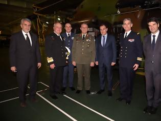 Φωτογραφία για Επίσκεψη ΥΕΘΑ κ. Νικόλαου Παναγιωτόπουλου στο Ελικοπτεροφόρο «DIXMUDE» του Πολεμικού Ναυτικού της Γαλλίας